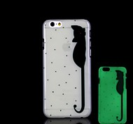 Cat Pattern Glow in the Dark Hard Case for iPhone 6