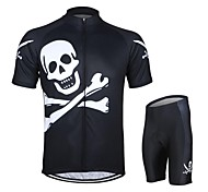 ARSUXEO Cycling Jersey + Shorts Quick Dry Breathable Clothing Cycling Suits