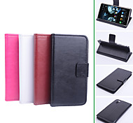 PU Leather  Protective Case With Holder Stand for Pantech  Vega Iron A870L/A870S/A870K (Assorted Colors)
