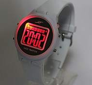 Kids' Calendar Charm watch Quartz Digital LED