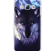 Fashion Painted  Wolf PC Hard Case for Samsung Galaxy A3