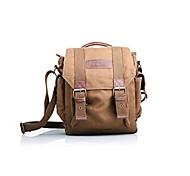 EIRMAI SS09 Small Canvas SLR DSLR Digital Camera Gadget Organizer Shoulder Bag Brown