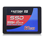 "FASTDISK SSSH 60GB 2.5"" Solid State Disk (SSD) Internal Hard Drive SATA III for Laptop"