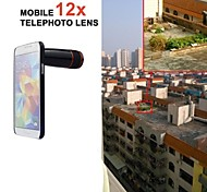 Apexel 12X Telephoto Manual Focus Lens for Samsung Galaxy S5 (Assorted Color)