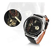 Men's Stylish Analog Quartz Wristwatch w/ Calendar