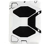 Custodie per il retro - Design speciale - Mela iPad 2/iPad 4/iPad 3 - DI Silicone - Colori assortiti