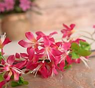 "41.3 ""l conjunto de uma alta jasminum flores de pano de seda nudiflorum"