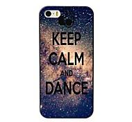 manter o caso duro projeto calma e dança para iPhone 4 / 4S