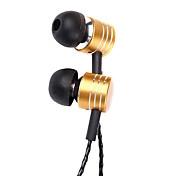 Mosidun MS-01 Wired Metal In Ear Earphone with Microphone for Iphone/Iphone plus