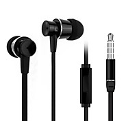 In-Ear Earphones with MIC and Volume Control Telephone Answering Noise Reduction for iPhone 6 iPhone 6 Plus
