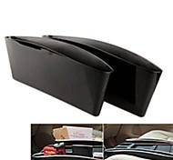 2PCS Portable Car  Storage Box Organizer Case