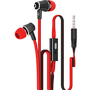 auriculares de metal elegante (auriculares, in-ear) de entrada de 3,5 mm se aplican a samsung iphone 4 / 5s / 6 / 6plus htc / arroz rojo /