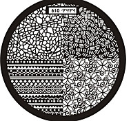 Nail Art Stamp Stamping Image Template Plate hehe Series NO.19