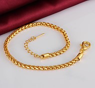 Exquisite Fashion High Quality Plating Ms 18 K Gold Bracelet