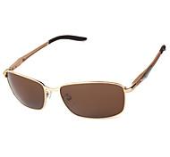 Polarized Men's Rectangle Driving Sunglasses