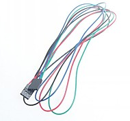 70cm 4pin Female - Female Jumper Cable DuPont Line For Arduino