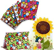 Sunflower Design Flip Wallet Case Cover For iPad Air