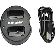 Kingma Dual USB Charger for SONY NP-FW50 battery and NEX-5C、NEX-C3、NEX-7、NEX-7C、A33、A55、NEX-5N NEX-F3 SLT-A37、NEX-7
