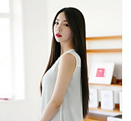 The European and American Fashion New Long Straight Hair