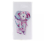 Elephant Pattern Soft TPU Case for Sony Xperia M2