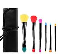 MSQ® 6pcs Makeup Brushes set Hypoallergenic/Limits bacteria Blush brush Eye Shadow Brush Makeup Kit Cosmetic Brushes