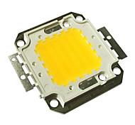JIAWEN® 50W 4000-4500LM 3000K Warm White LED Chip (DC 30-33V)