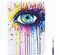 Magic Eye Pattern PU Leather Case Cover with A Touch Pen ,Stand and Card Holder for iPad Air