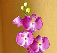 "29"" Long Fabric Butterfly Ochird Set of 3 Purple Color"