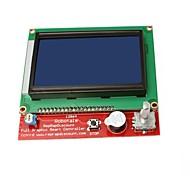 3d impressora controlador inteligente ramps1.4 lcd 12864 exibição
