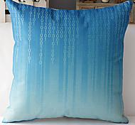современный стиль синие цифровых номеров с рисунком хлопок / лен декоративная подушка крышка