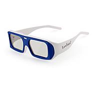 óculos 3D polarizados rotatórios para cinema (cor aleatória)