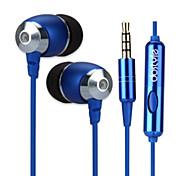 dostyle hs302 наушники с микрофоном стерео бас в ухо наушник гарнитуры высокого качества для iPhone 6 / 6plus (синие)