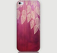 Willow Leaf Pattern Back Case for iPhone5/5S