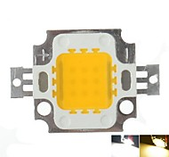 10W 900LM White/Warm White 3000K/6000K High Bright LED Light Lamp Chip DC 9-12V 10PCS