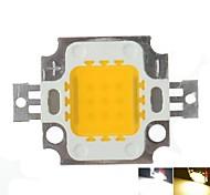 10w 900lm blanco / caliente blanco 3000k / 6000k alta brillante chip de lámpara de luz LED de CC 9-12V