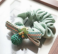 Korea Flower Bow Hair Rope