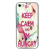mantenha a calma e estou caso duro projeto com fome para iPhone 4 / 4S