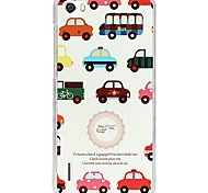 Fashion Painted Car PC Back Cover for Huawei Honor 6