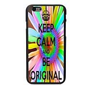 Keep Calm and Be Original Design Hard Case for iPhone 6 Plus