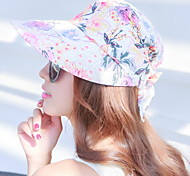 UV Sunscreen Folding Flower Visor Floppy Hat