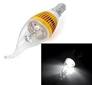1 Stück Kerzenlampen Drehbae E14 3 W LM 6000 K 3 Natürliches Weiß V
