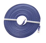 15 Meters PVC  Cat 6 Network Cable RJ45   Network Transmission Support 10 /100 / 1000 Mbps
