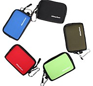 Nisafun Compact Waterproof Zip Pouch Case Bag  for a Point & Shoot Camera SP-105