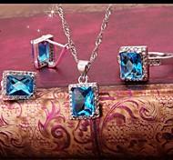 Women's Jewelry Sets Square Handmede Jewelry Sets