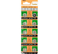 AG10 / LR1130 1.55V Alkaline Cell Button Batteries (10-Piece Pack)