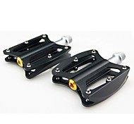 Cycling Aluminium Alloy Convenient Solid  Pedals with multi colour