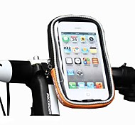 ROSWHEEL Cycling Bike Bicycle Protective Handlebar Bag Pouch Transparent PVC Touchable for 4.2 Cellphone