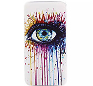 Colorful Eye Pattern TPU Soft Back Cover Case for Samsung Galaxy S6