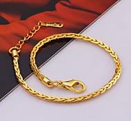 Exquisite Fashion High Quality Plating Ms 18 K Gold Bracelet