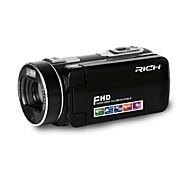 """RICH® HD-800 HD 1080P Pixels 13 Mega Pixels 16X zoom 3""""LCD Screen Full HD Digital Camera Camcorder"""